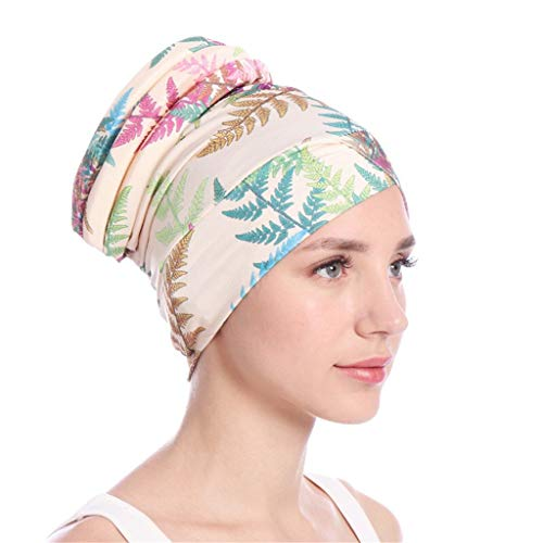 Battnot Hijab-Turban-Wickelkappe für Damen Islamischer Moslem-Hut Headwrap-Schal Decken Chemo-Kappe neu ab Multifunktions Hut Krebs Caps, Frauen Sommer-Sport Hüte Casual Sonnenhut Outdoor Womens Hat