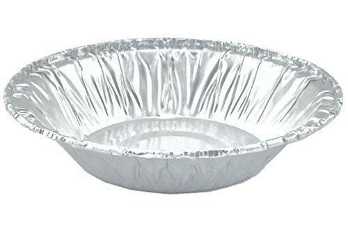"""1st Foils by Infinity_plus Aluminum Foil Mini Pie Pans 3 1/2"""" for Pie/Tart Pans, Mini Pot Pies and Pastries 40 Pcs."""