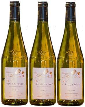 Jacquère trockener weißer Savoie-Wein, 2019 AOP Récoltant, 3 Flaschen à 75 cl