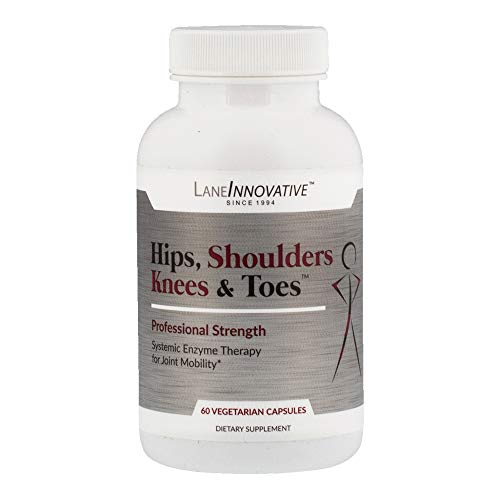 Lane Innovative - Hips, Shoulders, Knees & Toes, Professional Strength Joint Support, Helps promote Healthy Inflammation Response* (60 Vegetable Capsules)