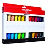 Amsterdam Royal Talens Introset III-Pintura acrílica (24 x 20 ml), Multicolor, 24 x 20Ml