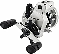 Daiwa Accudepth Plus-B Line Walleye Special Levelwind Fishing Reel (Silver)