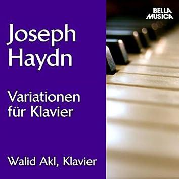 Haydn: Variationen für Klavier