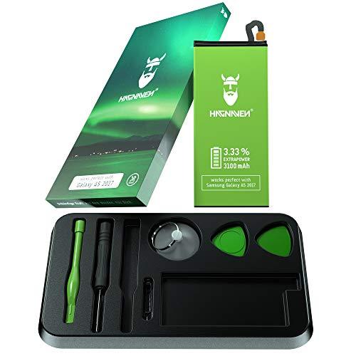 Batería Hagnaven® Li-polímero para Samsung Galaxy A5 2017 | Potente Batería con Herramienta | 3100 mAh | ENERGÍA arrolladora | Celdas Sustituye EB-BA500ABE