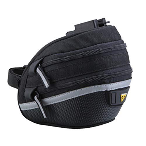 TOPEAK Wedge Pack II Satteltasche Fahrrad Inkl. Halterung QuickClick Sattelstütze Kompakt, 15000210, Größe medium