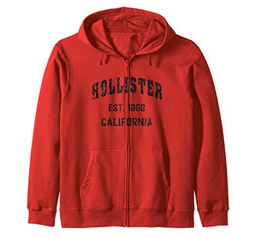Hollister, California Home Souvenir . EST. 1868 Sweat à Capuche