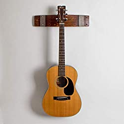 wine barrel stave crafts ~ guitar rack