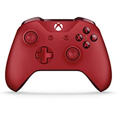 Experience the enhanced comfort and feel of the Xbox wireless controller red Get upto twice the wireless range than previous controllers Stay on target with textured grip Includes Bluetooth technology for gaming on Windows 10 PCs and tablets
