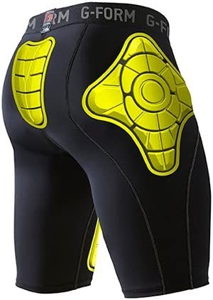 G-Form Pro-T Shorts-Yellow-Adult Seattle Mall Compression 4 years warranty