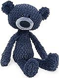 "GUND Ripple Toothpick Teddy Bear Textured Plush Stuffed Animal, Blue, 15"""