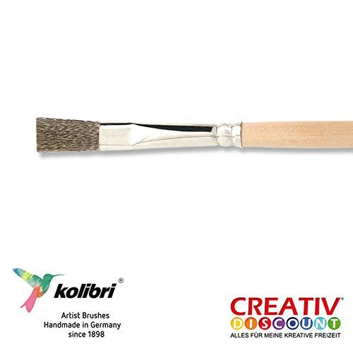 CREATIV DISCOUNT® NEU Drahtpinsel Flach Stahl Gr. 02, 3 Stück - Hinweis: Dieser Artikel Wird Ihnen direkt vom Hersteller in einem separaten Paket zugeschickt
