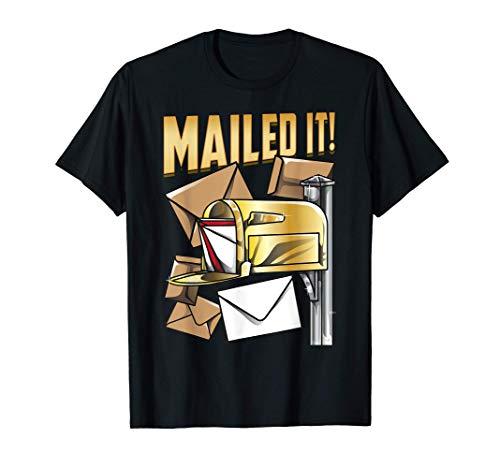 Lo envié por correo Cita de un trabajador del correo Camiseta