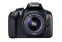 Canon EOS Rebel T6 Digital SLR Camera Kit - Canon Vlog Camera