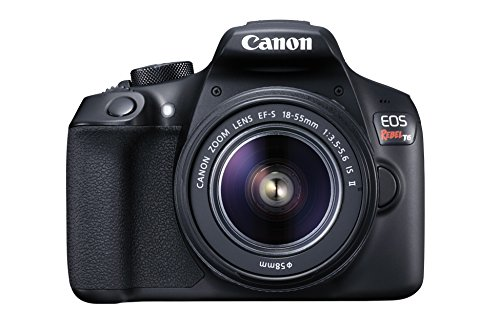 Canon EOS Rebel T6 Digital SLR Camera Kit with...