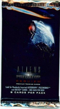 Aliens VS Predator Requiem Premium Trading Card Pack by Aliens vs Predator