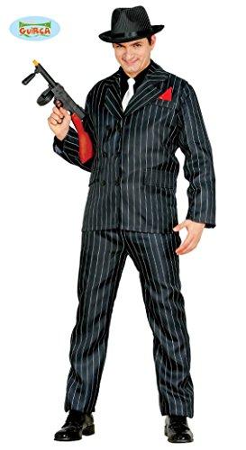Guirca Costume vestito gangster anni '30 carnevale uomo 84655