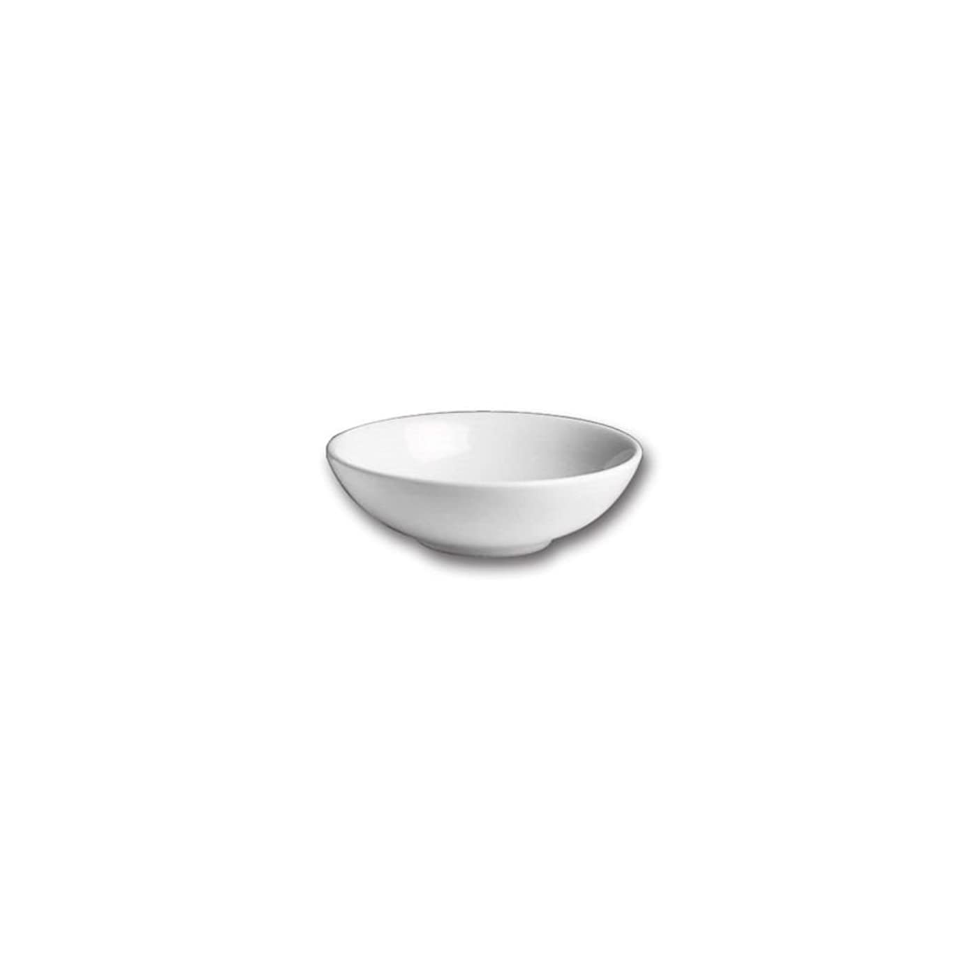 Hall China 12820AWHA White 4 Pint Salad/Pasta Bowl - 3 / CS