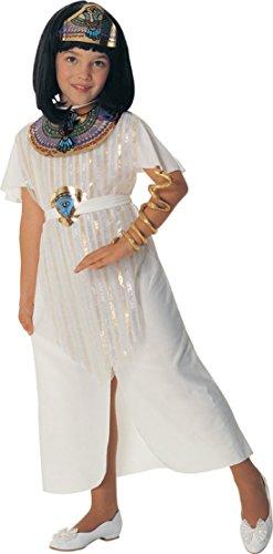 Disfraz de Cleopatra Reina Egipcia para niña, Talla M infantil 5-7 años (Rubie's 881062-M)