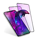 【ブルーライトカット】 iPhone11/iPhoneXR ガラスフィルム ブルーライト 液晶保護フィルム アイホンXR/アイホン11 強化ガラス フィルム 全面保護 2枚入り