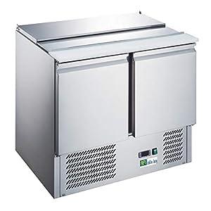 Saladette Réfrigérée de 240 à 368 Litres - Série Star - AFI Collin Lucy - 2 Portes 2 x 1/1 et 3 x 1/6 Pleine