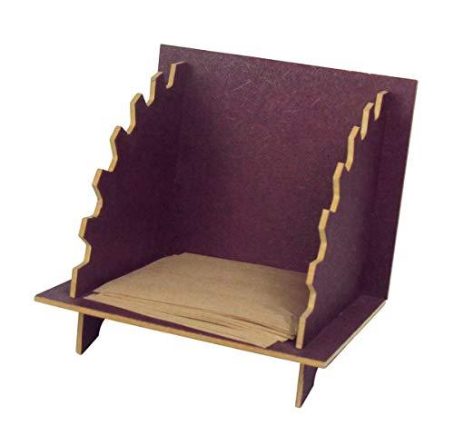 Zettelbox ''Max'' - Aubergine | Ordnungssysteme | Schreibtisch Organisation | Zettel Ablage | Notizzettelbox Office | Zettelkasten | Preis am Stiel®