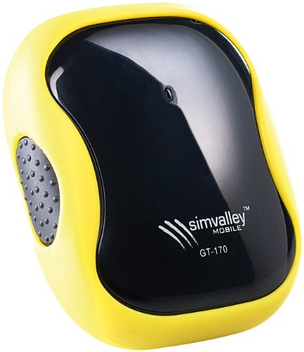 simvalley MOBILE GPS-GSM-Tracker GT-170 V.2 - SMS-Ortung und Geofencing