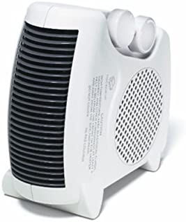 Lotus Analin Portable Space Heater Compact Home Office Quiet, Adjustable Thermostat