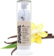 Better'n Ur Skin PORCELAIN Organic Liquid Foundation (Very Fair, Cool) | Healthy Makeup | All Natural | Vegan | Cruelty Free | Gluten Free | Non GMO | Palm Free | Natural Sun Protection