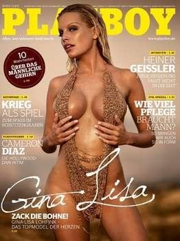 Playboy 2010-08 August Topmodel Gina Lisa / Gina-Lisa