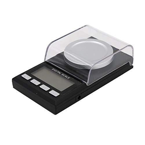 Mini-Schmuckwaage Hochpräzise 50 G X 0,001 G Digitale Tasche Elektronische Goldwaage Schmuckwaage Wiegen Balance Gram Lcd-Display