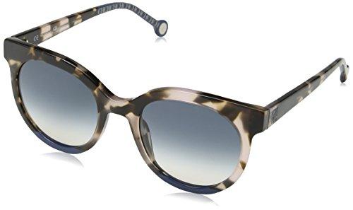 Carolina Herrera Mujer SHE745 Gafas de sol, Marrón (Shiny Brown/Pink Havana)