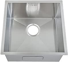 /Évier rond einbausp/ülbecken inox dimensions :  42,5 cm-m07 mr dE