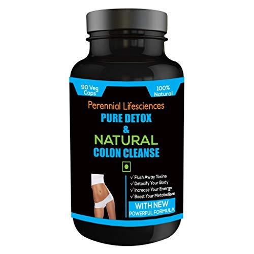 Perennial Lifesciences Pure Detox & Natural Colon Cleanse 90 veg capsules (Pack Of 1)
