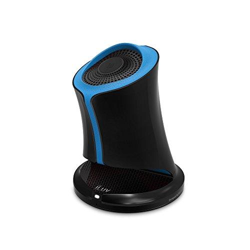 iLUV Syren Bluetooth Lautsprecher mit NFC, schwarz/blau