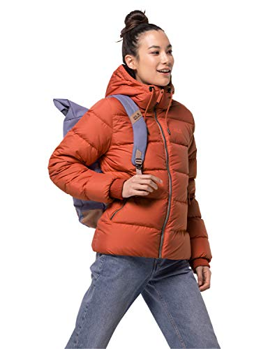 Jack Wolfskin Damen Crystal Palace Jacket W Daunenjacke, Saffron orange, M