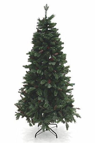 Galileo Casa Toronto Albero di Natale, PVC, Verde, 120x120x210 cm
