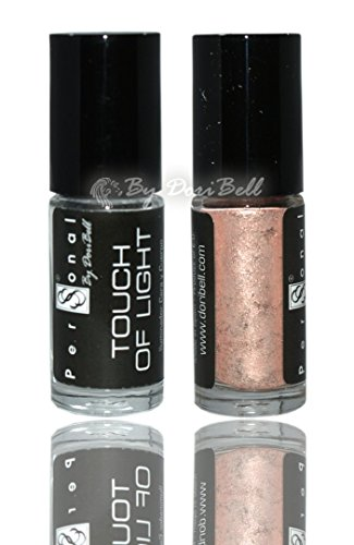 By DoriBell ® Polvo Iluminador Touch of Light 05 Color Rosa Salmón 30ml.