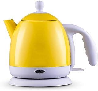 SCDZS Isolation électrique Thermique Bouilloire Eau Chaude Chaudière en Acier Inoxydable Pot 1L Mini Voyage Teapot Lait Ch...