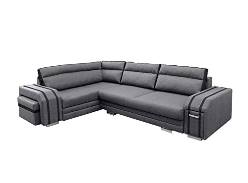 Ye Perfect Choice CORNER SOFA BED Ann Modern Couch Seater Sleeping Function...