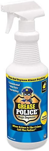 Grease Police Magic Degreaser by BulbHead Super Concentrated Degreaser and Cleaner Spray For product image
