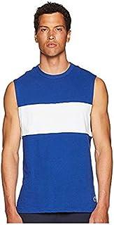 トッドスナイダー Todd Snyder メンズ トップス シャツ ブラウス Blue Color Block Muscle Tee [並行輸入品]