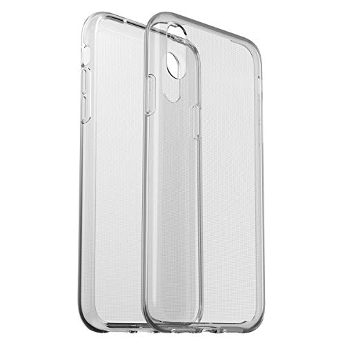 OtterBox clearly Protected Skin, Extra Slim Silikon Schutzhülle, geeignet für iPhone XR, transparent