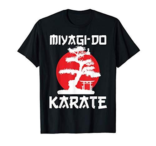 Retro Vintage Miyagi-Do Karate Life Bonsai Tree Martial Arts T-Shirt