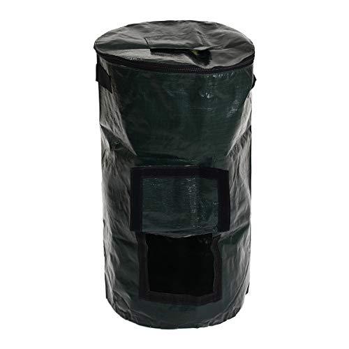 EsportsMJJ 60L Organique Composter Déchets Convertisseur Poubelles Eco Friendly Compost Stockage Jardin