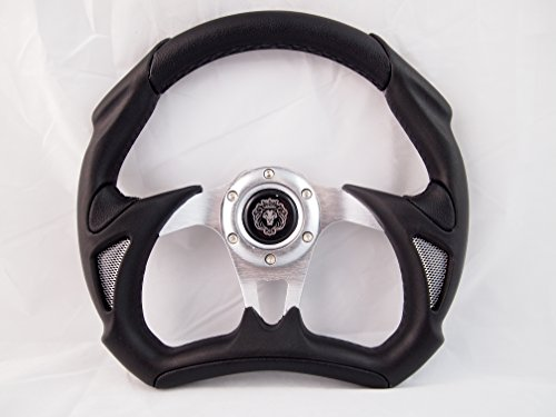 Boat Steering wheel W/ Adapter 3 spoke boats with a 3/4' tapered key Marine'