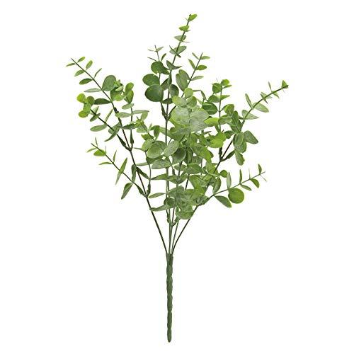 東京堂 造花 ヌーヴェルユーカリブッシュ グリーン アーティフィシャルフラワー 葉の全長 約1~2×全長 約32×幅 約15cm FG003395-024
