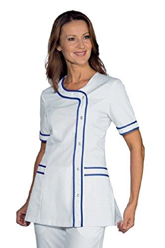 Robinson Damen-Kasack Toulouse weiß/blau Gr. S