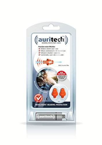 AURITECH Biker Earplugs - Intelligent Hearing Protection for Motorcyclists