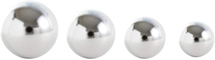 Replament Screw Balls Challenge the Phoenix Mall lowest price of Japan 14G 10pcs Steel Body Surgical Any for
