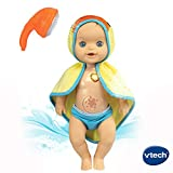 VTECH- LL-Valentin Prend Son Bain Little Love POUPEES/POUPONS, 80-197405, Multicolore - Version FR